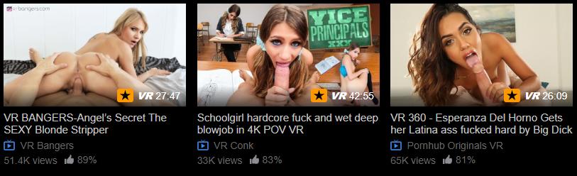 pornhub vr premium