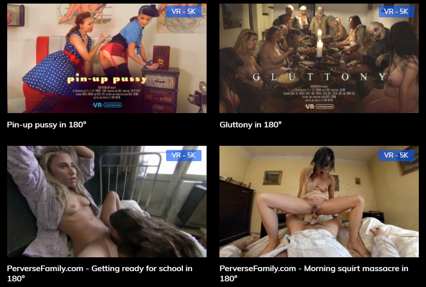 xvirtual horror vr porn